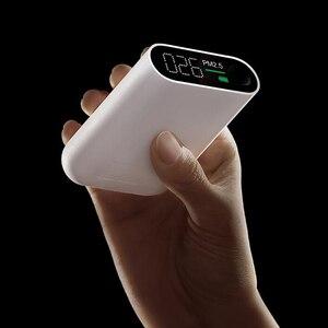 Image 3 - Xiaomi Smartmi PM2.5 detektor powietrza przenośny PM 2.5 Mini wrażliwy Monitor jakości powietrza dla Home Office Hotel Mi ekran LED
