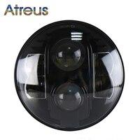 Atreus 80W Headlight For Jeep Wrangler JK 07 2014 CJ TJ Accessories 1PC 7Inch Car LED