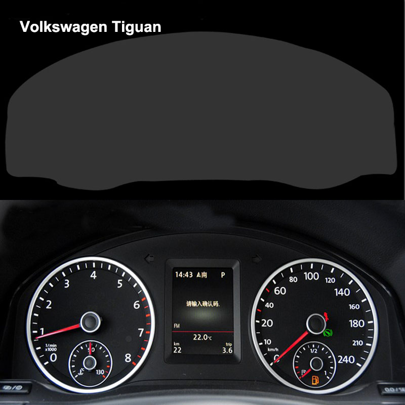 Styling car dashboard paint protective film car sticker for vw tiguan 4h scratchproof 99 light for Automotive interior protective film