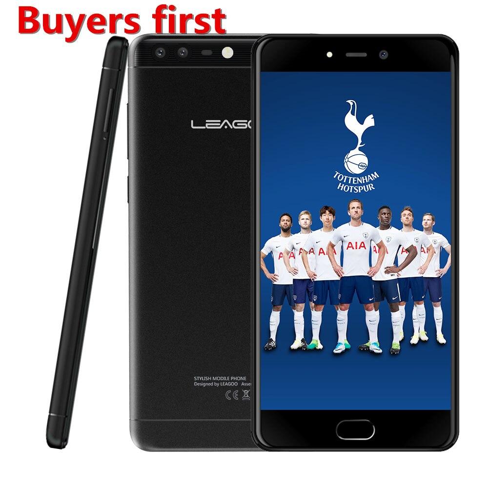 LEAGOO T5C 5.5 Pouce 1920x1080 FHD Smartphone 3 GB RAM 32 GB SC9853 Octa base Android 7.0 13MP D'empreintes Digitales 4G LTE Mobile téléphone
