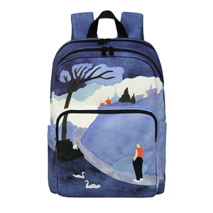 Image 2 - [NEW ARRIVAL] 2019 YIZISTORE original backpacks creative  school bags for teenagers and traveling in SCENERY 3(FUN KIK store)