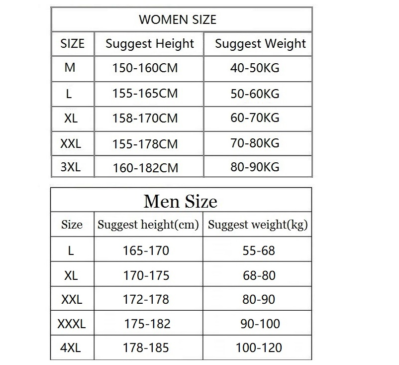 womenM-3XL -
