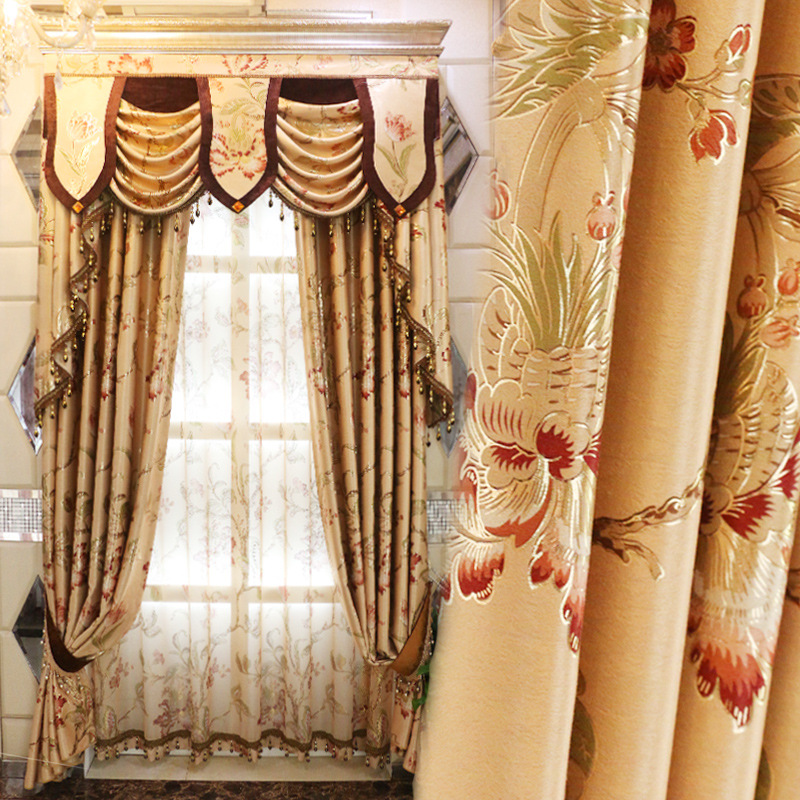 Luxury design valance embroidered kitchen door curtains bedroom curtain  drape window blinds for balcony China. Popular Luxury Valances Buy Cheap Luxury Valances lots from China