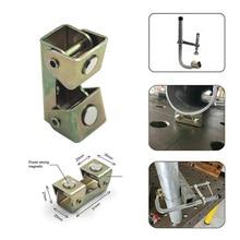 1 шт. магнитные v-образные зажимы v-образной формы сварочный держатель сварочное приспособление Регулируемый Магнит v-колодки ручные инструменты металлический рабочий инструмент B4