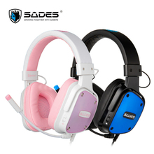 SADES Dpower three.5mm Gaming Headphones Light-weight Design Lovers Headphone Multi-platform Headset for PC/Xbox One/PS4