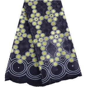 Image 3 - ירוק שוויצרי וואל תחרה בשוויץ באיכות גבוהה רקמה אפריקאית תחרה בד אופנה צרפתית כותנה תחרה טול בד 1468