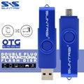 Suntrsi Pendrive 64 ГБ USB Flash Drive Металл Ручка Привода OTG Внешнее Запоминающее USB Stick Индивидуальный Логотип Печать с USB Флэш-