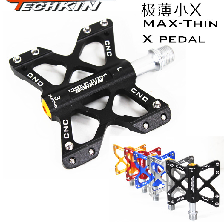Factory direct sales of 10333 mountain bike Aluminum Alloy thin small X three Palin lightweight pedal pedal pedal vehicle bearin бокорез three mountain in japan sn130 3 peaks