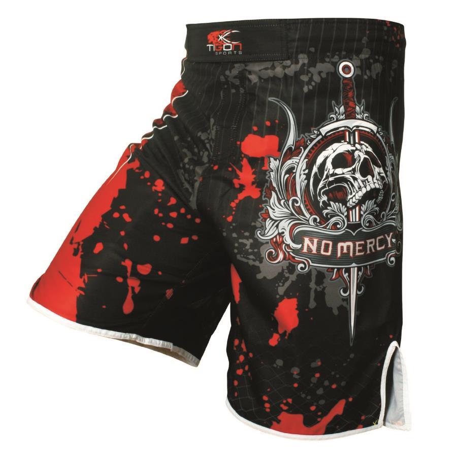 Guantoni da boxe uomo pantaloni stampa MMA Shorts Lotta Grappling Breve Poliestere Calcio Gel Boxe Muay Thai Pantaloni thai pantaloncini da boxe mma