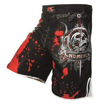 Men's boxing pants printing MMA Shorts Fight Grappling Short Polyester Kick Gel Boxing Muay Thai  Pants thai boxing shorts mma wesing mma trunks muay thai boxing short pants sport cool spider pattern kick boxing sport fitness training shorts