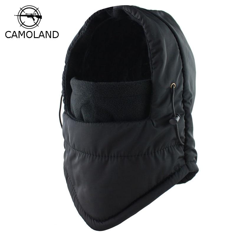 2019 Winter Balaclava Face Mask Thermal Fleece Men Women Motorcycle Ski Balaclava Windproof  Waterproof Beanies Drop Shipping