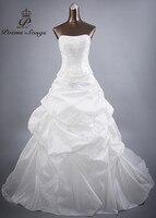 Poems Songs High Quality Custom Made Taffeta Style Wedding Dresses For Wedding Vestido De Noiva Bride