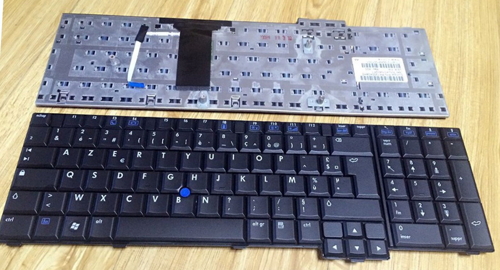 New notebook laptop keyboard for  HP Compaq 8710 8710p 8710w AZERTY  Fr/French layout  450484 001 for hp compaq 8710p 8710w quadro nvs 320m 256mb video card
