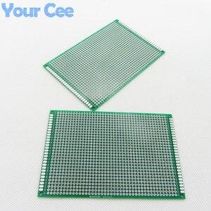 Image 3 - 10 pcs 8X12 cm 8*12 cm ضعف الجانب نموذج pcb اللوح العالمي المطبوعة لوحة دوائر كهربائية لاردوينو 1.6mm 2.54mm الألياف الزجاجية