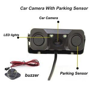 """Image 3 - ANSHILONG Auto Parktronic Dellautomobile Del Sensore di Parcheggio Video con Videocamera Vista Posteriore + 4.3 """"TFT LCD Monitor di SISTEMA 3 in 1"""
