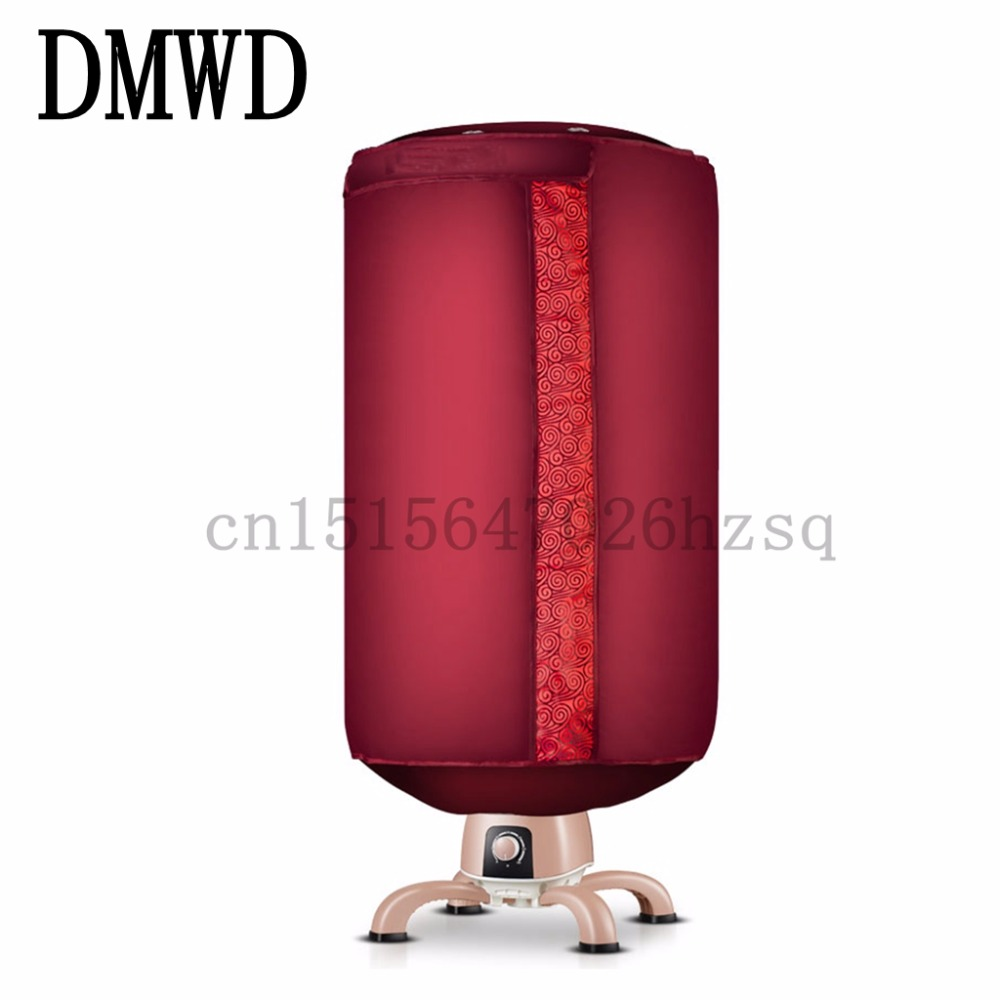 DMWD Portable Ventless Cloths Dryer Folding Drying Machine with Heater 220V 900W fast drying dmwd bake shoe device drying machine sterilization antiperspirant folding portable electric shoes dryer boots gloves 110v 220v