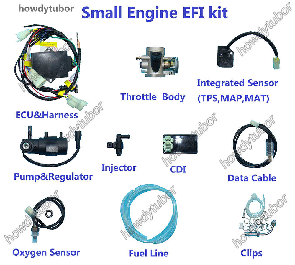 small resolution of motorcycle motorbike atv scooter pit bike buggy uav moped efi small engine electronic fuel injection kit