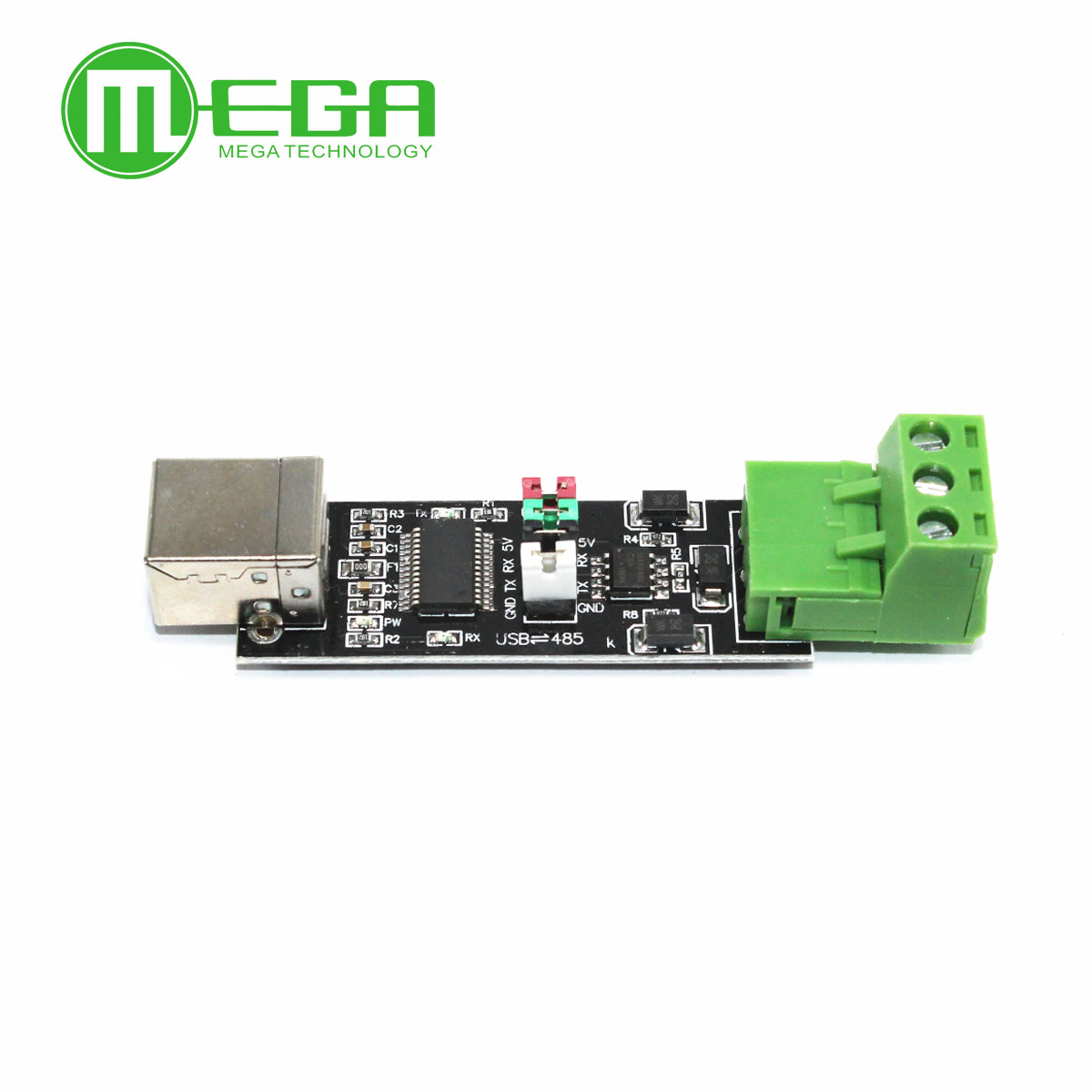 USB 2.0 To TTL RS485 Serial Converter Adapter FTDI FT232RL SN75176 Double Function Double Protection