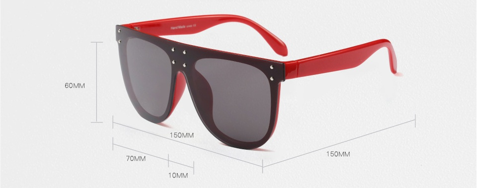 Un look de star pour ces spectaculaires lunettes de soleil- UV400- diverses combinaisons de couleur- livraison gratuite
