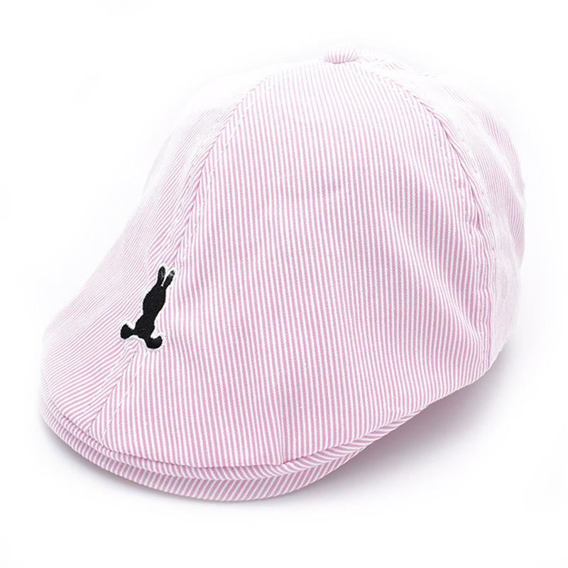 ff17416e0 children cotton Beret unisex bonnet hat baby fashion warm caps boy ...