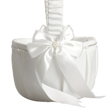 Ivory Basket for Wedding Party