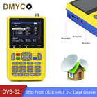 Original DMYCO HD Satellite Finder DVB-S2 FTA CKU Band HD 1080P Digital Satellite Finder Meter LNB TV Receiver Tool for Sat Dish