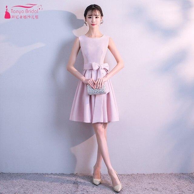 89de89f08ff A Line Simple Bridesmaid Dresses Short robe demoiselle d honneur Cheap In  Stock bride dress vestido de madrinha DQG475