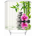 Chinese style Shower Curtains Bathroom Curtain Quality Practical Household Items Waterproof Shower Curtain Y-017