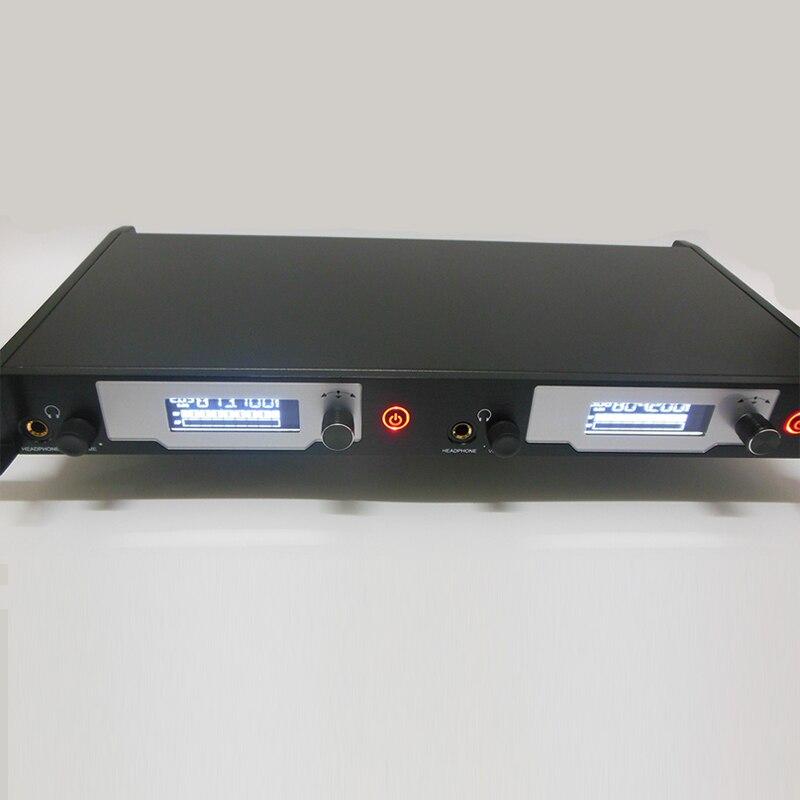 Neue! 4 Bodypack Empfänger in ohr monitor system Aktualisiert SR2050 IEM drahtlose in-ohr überwachung für Professionelle Bühne Leistung