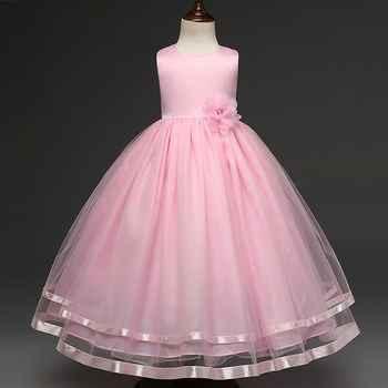 EMS DHL Free shipping little girls princess Dress Prom Party Dress Sorsage Sleelvess bosom Dress 4-10Y Valentine\'s Day Dress - DISCOUNT ITEM  6 OFF Mother & Kids