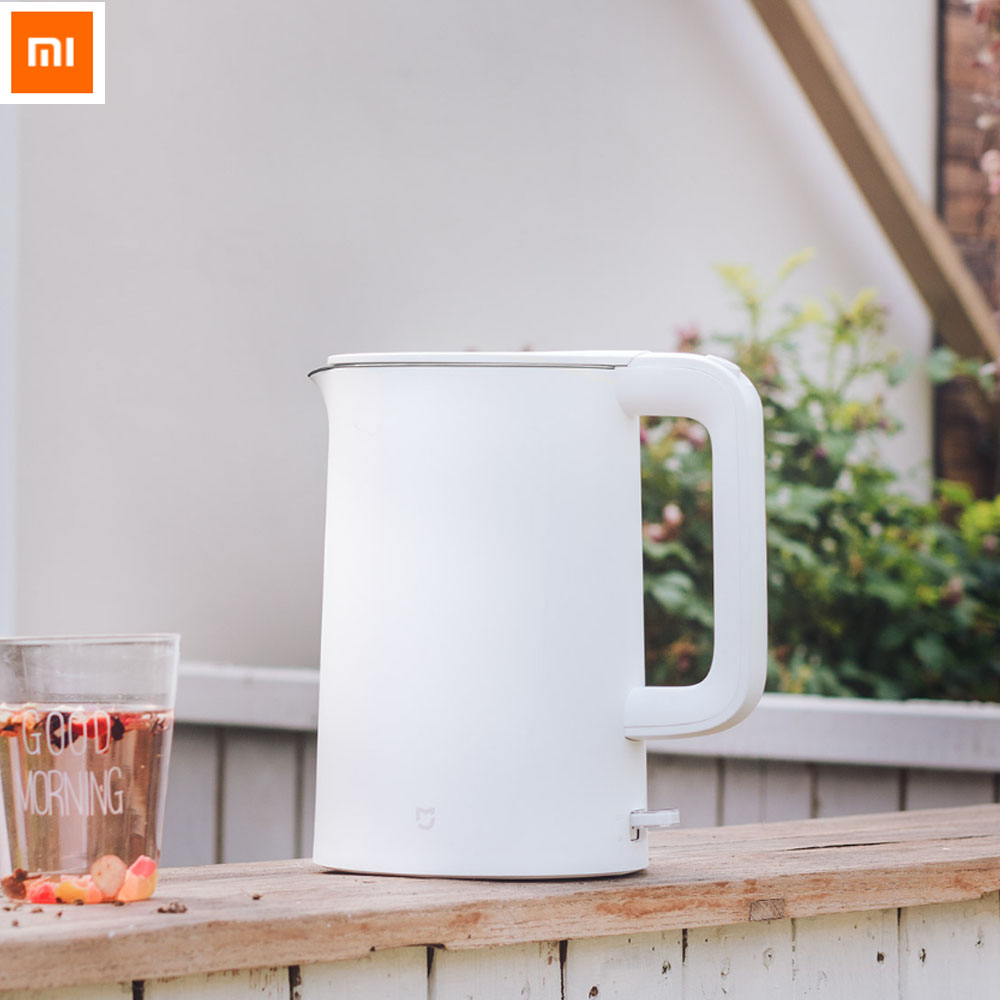 Original Xiaomi Mijia 1.5L Electric Water Kettle Auto Power Off Protection Wired Handheld Instant Fast Heating Electric KettleOriginal Xiaomi Mijia 1.5L Electric Water Kettle Auto Power Off Protection Wired Handheld Instant Fast Heating Electric Kettle