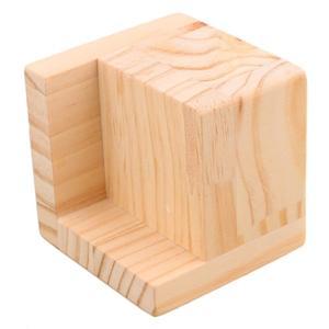 Image 3 - 4 stuks 7.5x7.5x7.3 cm L Vormige Semi Gesloten Lift Houten Bed Bureau Riser Lifter tafel Meubels Voeten Lift Opslag