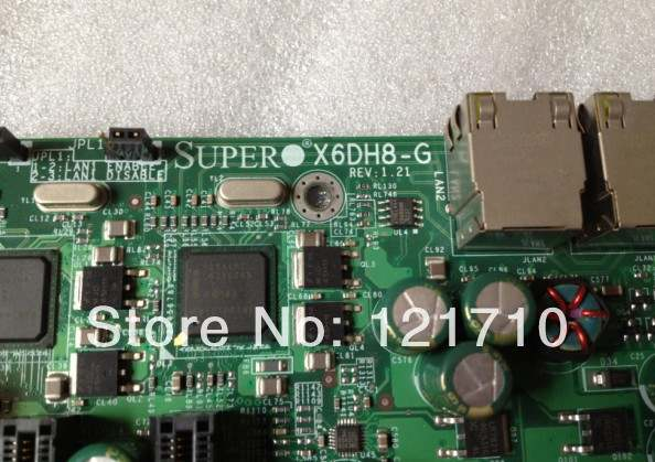US $399 0 |workstation and server board Supermicro X6DH8 G REV 1 21 dual  XEON 604 socket-in Add On Cards from Computer & Office on Aliexpress com |