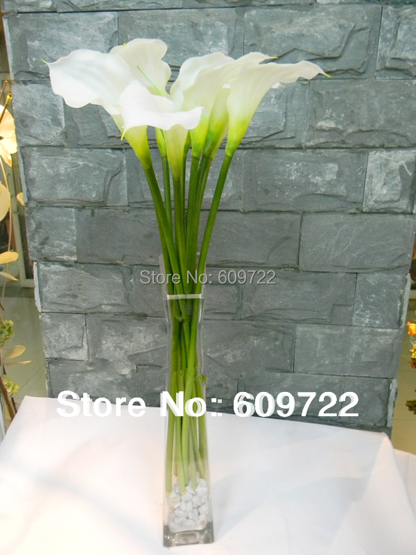 54cm Real Touch Artificial Calla Lily Bouquet Flower Wedding Home