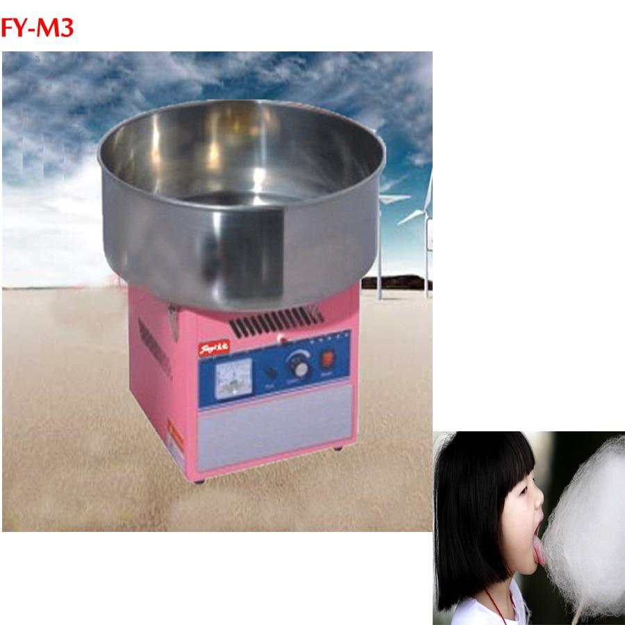 1 parça Elektrikli pamuk şeker makinesi pamuk ipi makinesi FY-M3