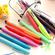 6 шт/лот милая Корейская канцелярская многоцветная гелевая ручка