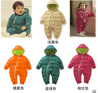 High Quality Baby Rompers Winter Thick Cotton Boys Costume Girls Warm Clothes Kid Jumpsuit Children Outerwear