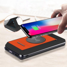 Vogek Digital Display Power Bank Bracket Wireless Charging M