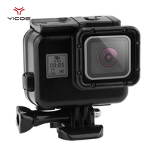 60m Underwater Box Waterproof House Case Housing+Touch Screen Backpack Door Cover For Gopro Hero 5 go Action Camera Accessories