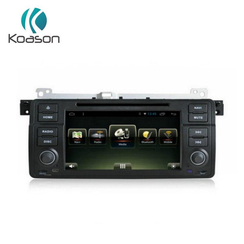 Koason 7 pouces 1 Din Android 7.1 navigation gps lecteur multimédia de voiture Véhicule Quad Core Avec disque Stéréo pour BMW E46 M3 1998 -2005