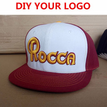 a9a0070b1ab Custom Two-Tone Snapback Snap Back Baseball Caps 6 panels OEM 3D Embroidery  Printing Logo