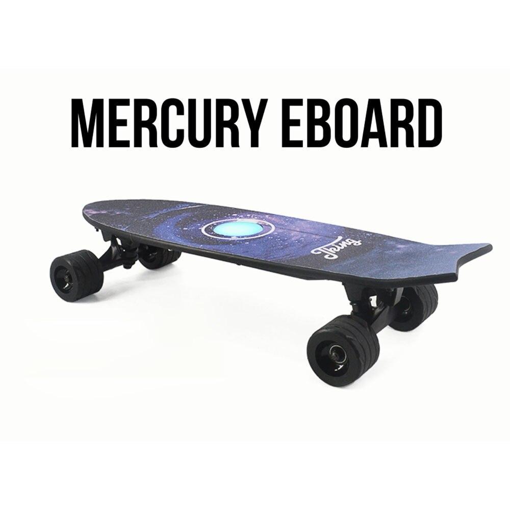 Nouveau Style Planche À Roulettes Électrique Avec Télécommande Sans Fil Planche À Roulettes Scooter Longboard Skate Board pour Adultes Enfants - 3