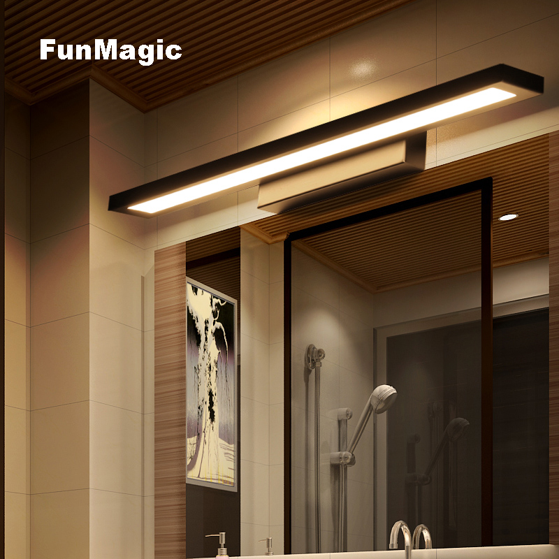 Nordic Modern Minimalism LED Bathroom Mirror Front Light Wall Lamp ...