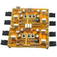 Un par de clase, un único-2 * pasar A3 amplificador HIFI de IRF9610 IRF244 30 W + 30 W DC25V 8ohm