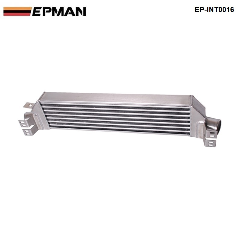 EPMAN - Intercooler for VW Golf MK5 (IC:600*160*60) OD:63MM EP-INT0016 epman universal 3 aluminium air filter turbo intake intercooler piping cold pipe ep af1022 af