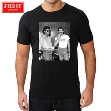 Mens Michael Jackson & Freddie Mercury 142 Pop Lgbt 2019 Hipster Print Interesting Create Shirts Harajuku Tshirt