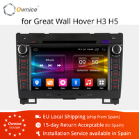 Ownice C500 Android 6.0 Octa 8 Core 4G SIM LTE CAR DVD PLAYER For Great Wall Hover H3 H5 with GPS navigation radio 32G ROM