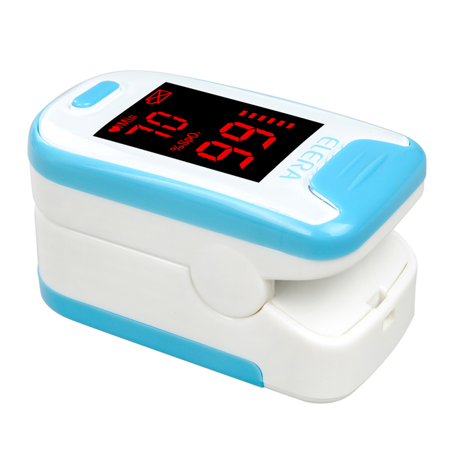 Portable LED Display Finger Oximeters
