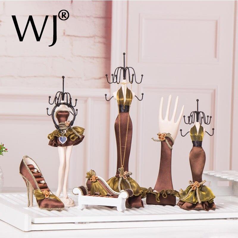 Meilleur Organisateur Bijoux affichage Exhibidor pour jadéite Bijoux collier Bracelet anneau boucles d'oreilles ensembles de décoration de mariage