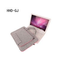 Style Wool Felt Laptop computer Bag For Mac 11 13 15 17 Mouse Luggage Briefcase for Macbook Air Professional Retina For Lenovo Pocket book Sleeve Case